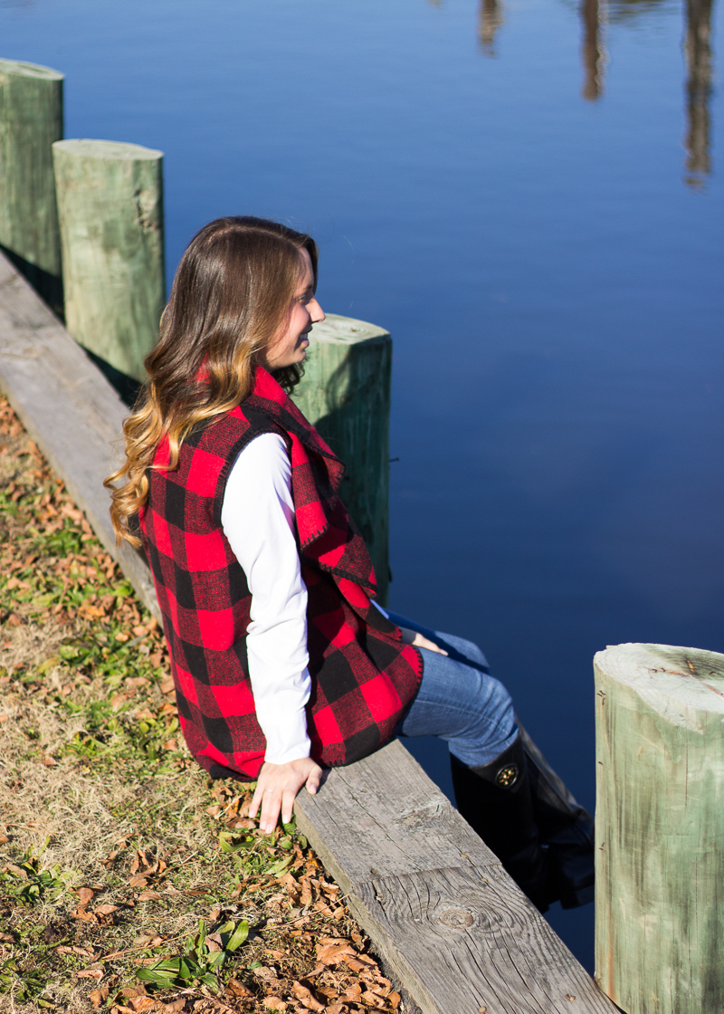 Red Buffalo Plaid Vest